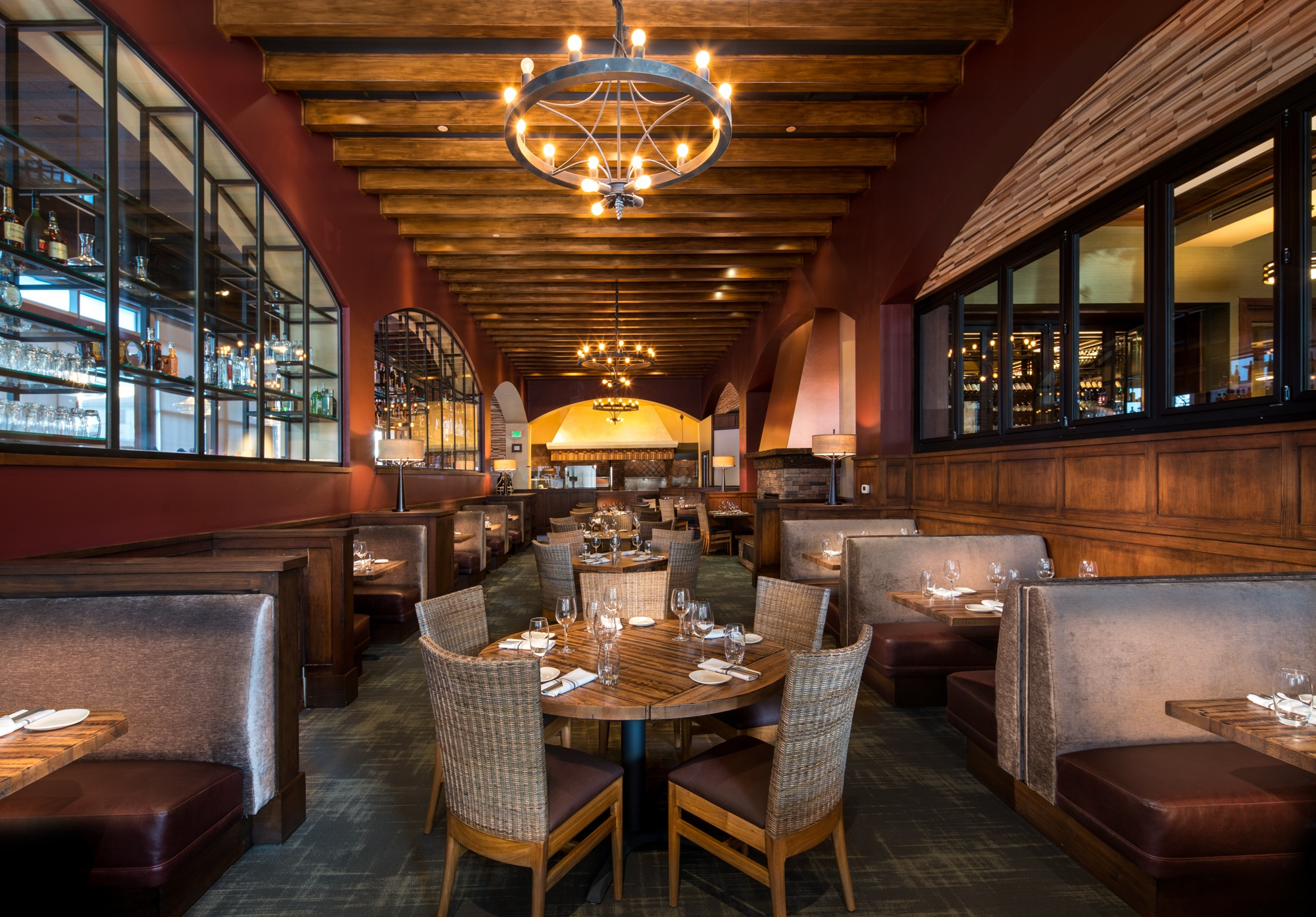 Westwood Upscale American Restaurant Napa Valley Grille