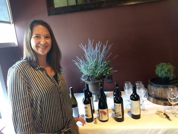 Claudia Burns and Paso Robles Wines
